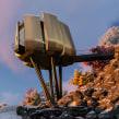 Futuristic Sustainable Mountain Pod. Un proyecto de Arquitectura, Animación 3D y Modelado 3D de Ehab Alhariri - 29.03.2021