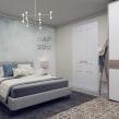 Apartamento en Barcelona. Un proyecto de 3D, Diseño de interiores, Modelado 3D, Decoración de interiores, Diseño 3D e Interiorismo de Alexandra Proaño Gonzales - 03.04.2021