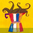 Meu projeto do curso: Laboratório gráfico de ilustração. A Illustration, Zeichnung, Artistische Zeichnung, Malerei mit Acr und l project by Weberson Santiago - 19.04.2021