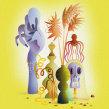 Still Life 1. A Illustration, Creativit, and Digital illustration project by Nathan Jurevicius - 04.29.2021