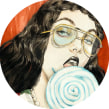 Gucci Collage. Um projeto de Ilustração, Moda, Pintura, Colagem e Desenho de Connie Lim - 28.04.2021