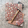 Terrazzo tiles New project. Um projeto de Design, Artesanato e Culinária de BRIK chocolate - 03.05.2021