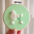 Mint Green Poodle. A Crafts, and Fine Art project by Courtney McLeod - 04.01.2021