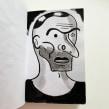 Sketchbook character studies. Un proyecto de Ilustración, Bocetado, Dibujo, Dibujo de Retrato, Brush painting, Sketchbook, Dibujo anatómico e Ilustración con tinta de Gary Baseman - 04.05.2021