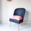 Painted Fabric Furniture. Un projet de Beaux Arts, Fabrication de meubles, Design d'intérieur, Design d'intérieur, Upc, cling , et Teinture textile de Chloe Kempster - 07.05.2021