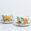 Mi Proyecto del curso: Ilustración floral sobre cerámica. Un proyecto de Diseño, Ilustración, Artesanía y Cerámica de Catalina Cumsille - 21.04.2021