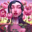 Lady in the water. Un proyecto de Ilustración, 3D, Modelado 3D y Diseño de personajes 3D de Fer Aguilera Reyes - 05.05.2021