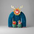 La Familia. Un proyecto de Ilustración, 3D, Modelado 3D y Diseño de personajes 3D de Enrique Escalona - 02.05.2021