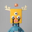 Música para mis ojos. Un proyecto de Ilustración, 3D, Modelado 3D, Diseño de personajes 3D y Diseño 3D de Enrique Escalona - 04.07.2020