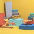 Silla Tabachín Mexa Design 2020. Un proyecto de Diseño de Fabien Cappello - 28.05.2021