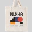 NWHR Branding Identity. Um projeto de Design, Direção de arte, Br, ing e Identidade, Design gráfico, Design de produtos, Design de logotipo e Design de moda de Marco Oggian - 03.06.2021