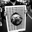 'No es mi presidente' (Carteles para la protesta del 14N en Perú). Un proyecto de Diseño, Ilustración, Dirección de arte y Diseño de carteles de Alexandro Valcarcel - 25.10.2020