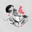 Sala de Parto 2017: Lecturas Dramatizadas (Collage). Un proyecto de Diseño, Ilustración y Collage de Alexandro Valcarcel - 12.07.2017