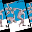 Olimpiadas: Una re-versión. Un proyecto de Diseño y Diseño de carteles de Alexandro Valcarcel - 20.05.2021