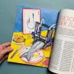 Editorial Illustration // Future of Food. Un proyecto de Ilustración, Creatividad, Ilustración digital, Ilustración de retrato e Ilustración editorial de Carina Lindmeier - 14.06.2021