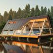Prism Lake House . A Architektur, Innenarchitektur und Illustration project by Ehab Alhariri - 17.06.2021