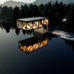 The L Lake House. Un proyecto de 3D, Arquitectura, Arquitectura interior, Diseño de interiores, Modelado 3D y Diseño 3D de Ehab Alhariri - 18.06.2021
