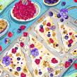 5 No-Bake Dessert Recipes That Take Less Than 10 Minutes. Un proyecto de Ilustración, Ilustración digital e Ilustración editorial de Carina Lindmeier - 22.06.2021