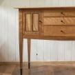 Aparador de cerezo curvo. Un projet de Artisanat, Fabrication de meubles, Design d'intérieur , et Charpenterie de Israel Martín - 28.06.2021