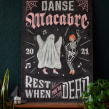 Danse Macabre. A H, Lettering & Illustration project by Paola Vecco - 07.09.2021
