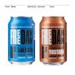 Free Damm. Sistema de Identidad. Packaging. Um projeto de Design de Mario Eskenazi - 17.07.2021