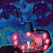 Positivity Life Raft. Un proyecto de Ilustración de Izzy Burton - 25.07.2021