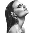 Bleistift Porträt-Zeichnungen. Un progetto di Pittura, Bozzetti, Creatività, Disegno a matita, Disegno, Illustrazione di ritratto, Disegno di ritratto, Disegno realistico , e Disegno artistico di Jessica Janik - 28.07.2021
