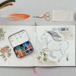 My project in Animal Illustration: Capturing Wildlife in a Sketchbook course. Un projet de Illustration, Collage, Carnet de croquis et Illustration naturaliste de Jenny Rae - 31.07.2021