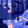 Chillhop Music _ Calm . Un progetto di Animazione , e Animazione 2D di Roxane Campoy - 02.08.2021