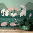 MAISON BONAMI _ Kyuuai Dansu. Un progetto di Interior Design e Illustrazione di Roxane Campoy - 02.08.2021