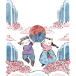 ¡Hwaiting! palabras intraducibles de la lengua coreana. Hwarang Editorial. Un projet de Illustration de Flor Kaneshiro - 28.02.2020