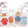 Shiki. Juegos Maldón. Un projet de Illustration de Flor Kaneshiro - 16.11.2020