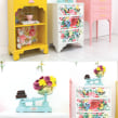 Wallpaper Locker . A Creativit, DIY, Upc, and cling project by Joanne Condon - 08.09.2021