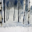 Forrest. A Watercolor Painting, and Fine Art project by Christian Koivumaa - 08.16.2021