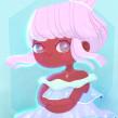 Segunda menina de inverno. A Illustration project by Brenda Bossato - 08.25.2021