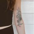 Tattoo designs. A Design, Illustration, Tattoo Design, and Botanical illustration project by Alli Koch - 08.25.2021