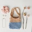 Mi Proyecto del curso: Diseño y tejido de bolsos con cordón de seda. Un projet de Design , Création d'accessoires, Artisanat, Mode, Couture , et Tissage de OLVIDO MADRID - 14.09.2021