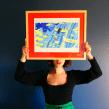 Framed illustration . Un progetto di Illustrazione di Roxane Campoy - 20.09.2021