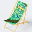 DIY art Shop London - Deck chair . Un proyecto de Diseño, Ilustración y Diseño de interiores de Roxane Campoy - 02.08.2021