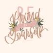 Be proud of yourself . Un progetto di Calligrafia, Illustrazione digitale, H , e lettering di Chiara Bacchini - 03.10.2021
