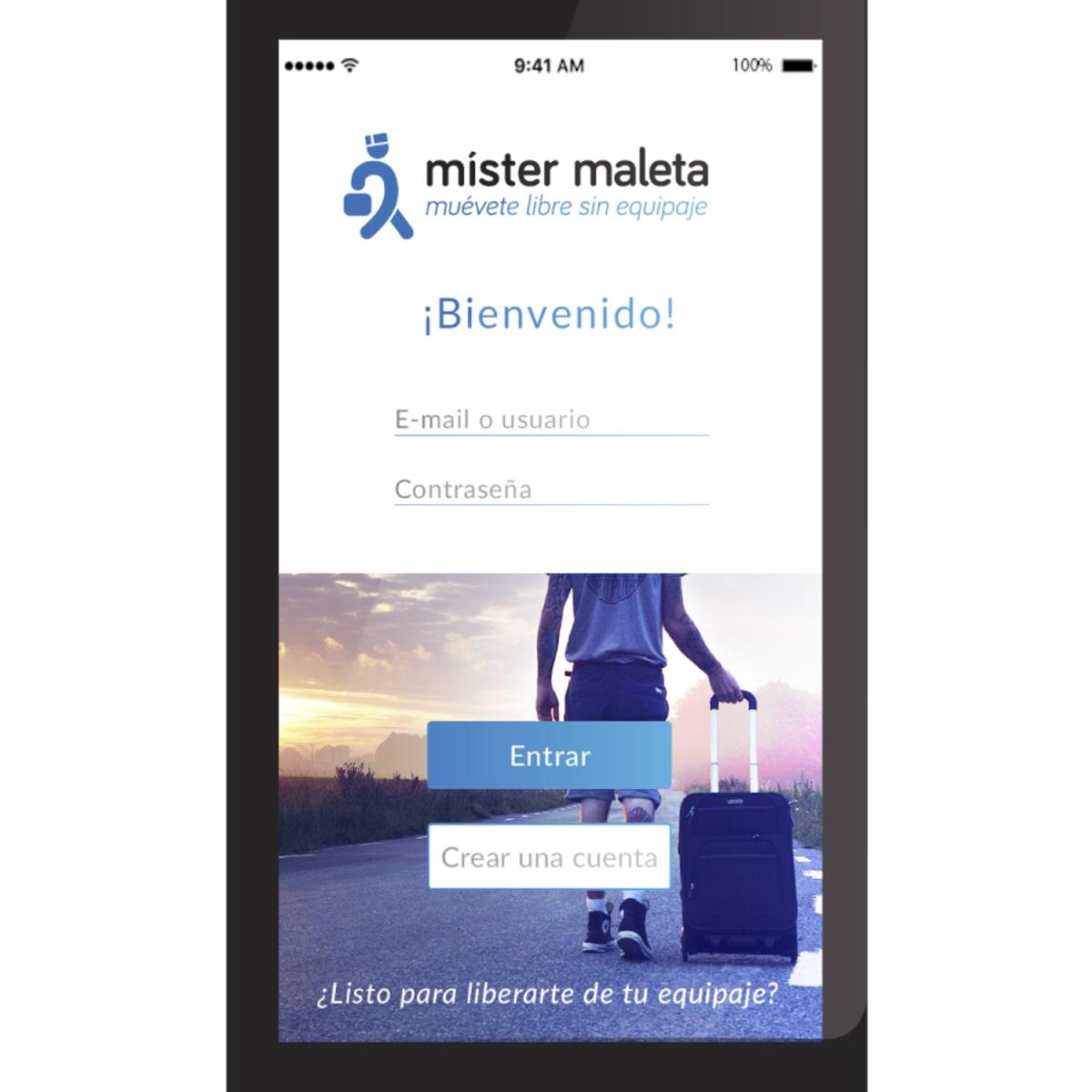 App Mister Maleta | Domestika