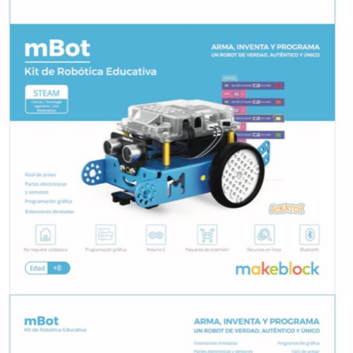 Robot mBot Add On Package | Domestika