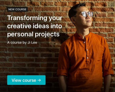 Transforming your creative ideas into personal projects. A course by Ji Lee