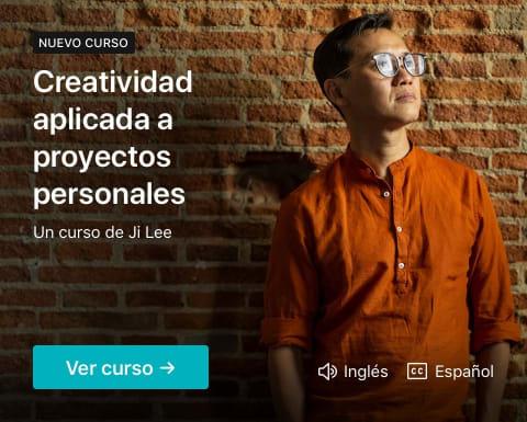 Creatividad aplicada a proyectos personales. Un curso de Ji Lee