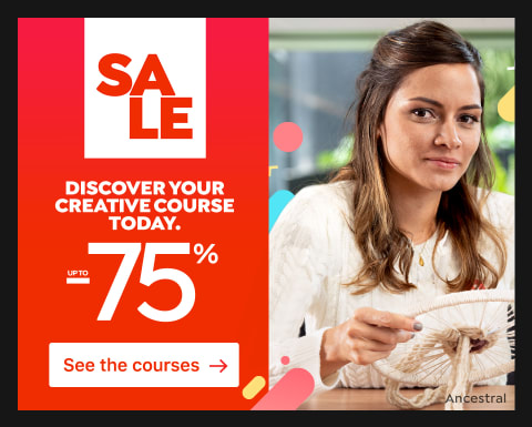 Sale: Courses up to 75% off