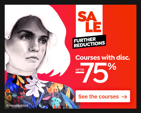 Further Reductions: Courses up to 75% off