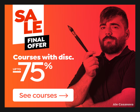 Final offer: Courses up to 75% off