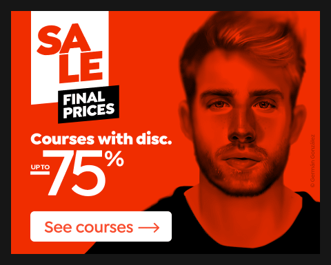 Final prices: Courses up to 75% off