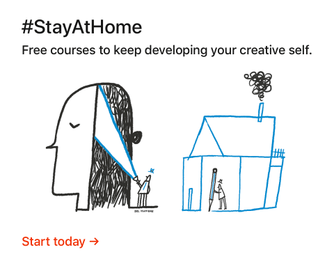 Free courses to keep developing your creative self.