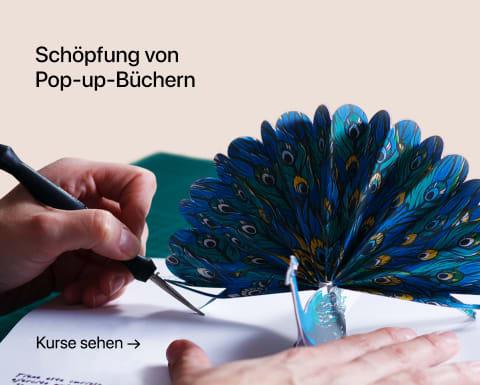 Schöpfung von Pop-up-Büchern. Ein Kurs von Silvia Hijano Coullaut.